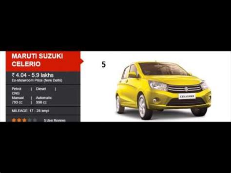 best car to buy in india top 6 cars to buy in india 2017