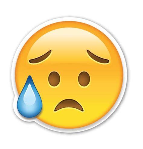 emoji sad face interpretation quot i m so sad quot emoji meaning popsugar