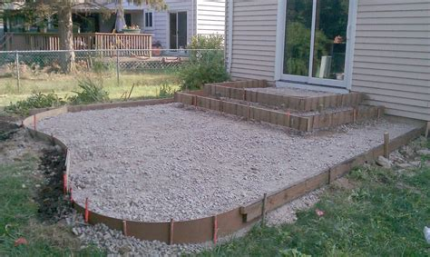 poured concrete patio poured concrete patio designs patio and steps were