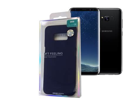 mercury goospery sf jelly tpu cover for samsung s8