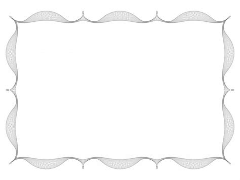Simple Like Frame Powerpoint Template Is A Simple Frame Border Powerpoint Template With Light Border Templates For Powerpoint