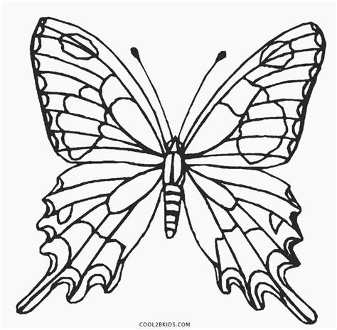 monarch butterfly coloring page monarch butterfly