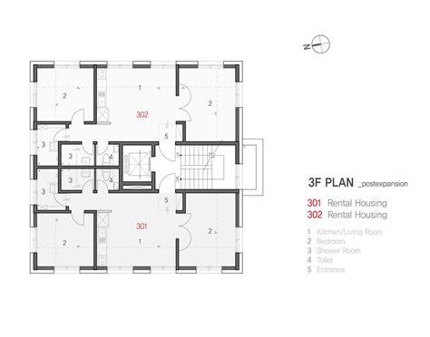 floor plan 3rd street gallery of yene house design band yoap 31