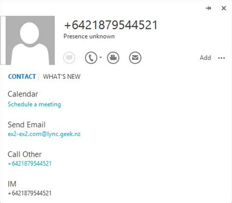 Search Business Address Ad Contacts Displayed Incorrectly In Skype4b Uc