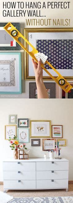 how to hang frames without nails dos and don t of a gallery wall best of pinterest