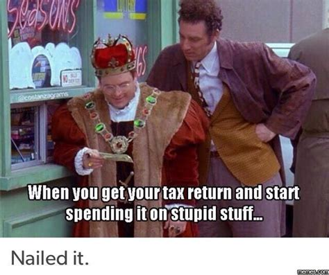 Tax Return Meme - home memes com