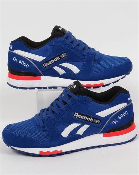Sepatu Casual Rebook Gl 6000 Blue reebok gl 6000 reebok gl 6000 gravel carbon wine white