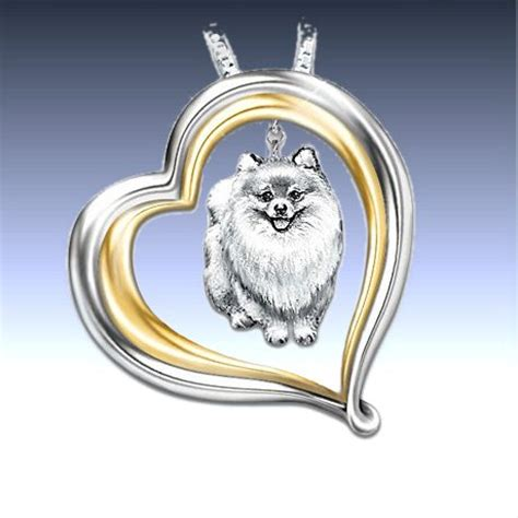 pomeranian necklace excellent jewelry for many breeds