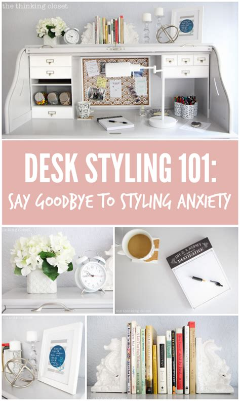 how to say desk in desk styling 101 say goodbye to styling anxiety there s
