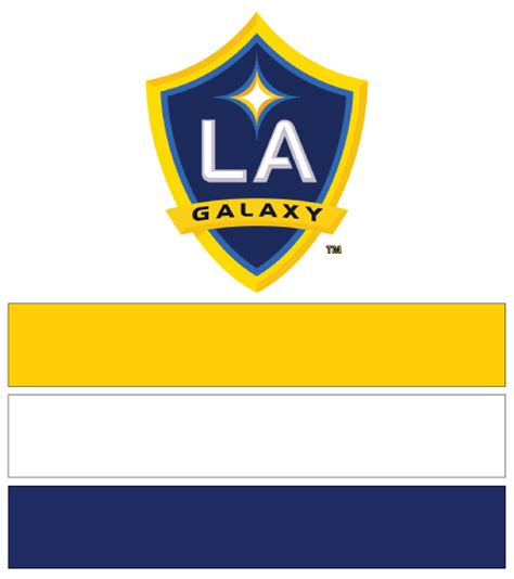 la galaxy soccer nail ideas designs spirit wear