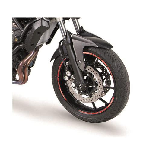 Felgenrandaufkleber Motorrad Wei by Barracuda Motorrad Felgenrandaufkleber 14 16 Zoll Weiss