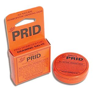 What Is Prid Homeopathic Drawing Salve