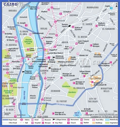 where is cairo on a map cairo map toursmaps