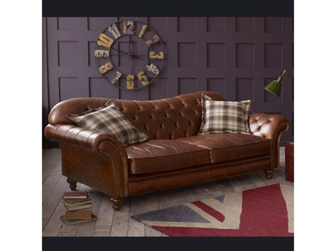 Brown Vintage Leather Sofa by Vintage Brown Leather Sofa Arundel Living Room Sofas