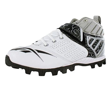 reebok football turf shoes reebok bulldodge mid at lc turf mens football shoes white