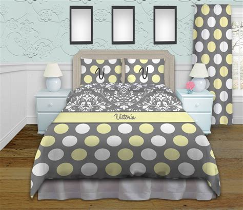 gray polka dot comforter gray and white damask queen king and twin bedding with