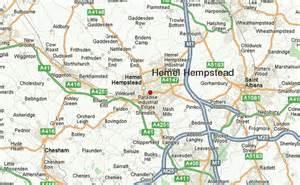 hempstead map hemel hempstead location guide