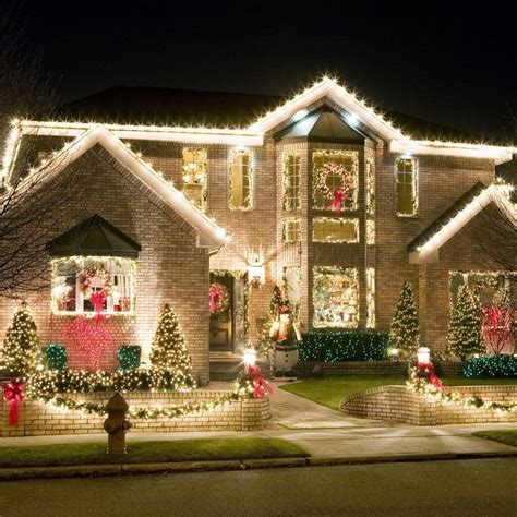 homes decorated for christmas outside best 25 exterior christmas lights ideas on pinterest outdoor christmas trees christmas