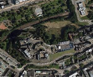 google earth images of britain transform landmarks from