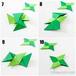 How To Make A Origami Shuriken - make origami awesome math transforming