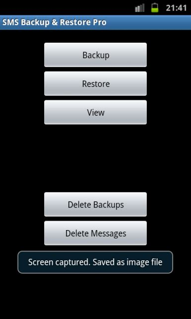 tutorial android backup tutorial sms backup restore app android zone