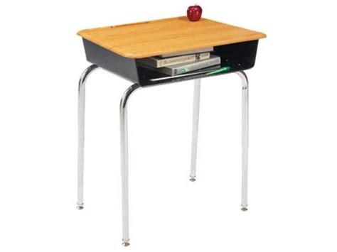 premium open front school desk woodstone top ofh 1200ws