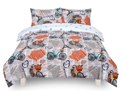 Bed Cover Ukuran 220 X 230 Microtex Polos Bed Cover Only vintage white single king bedding duvet cover set 5060543350074