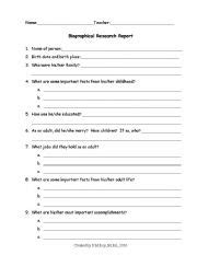 biography questions worksheet english teaching worksheets biographies