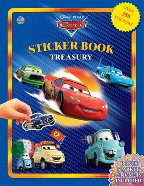 Cars Sticker Book Treasury