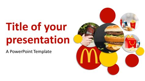 Mcdonalds Powerpoint Template mcdonald s powerpoint template presentationgo