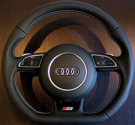 facelift flat bottom steering wheel guide rs4 b7