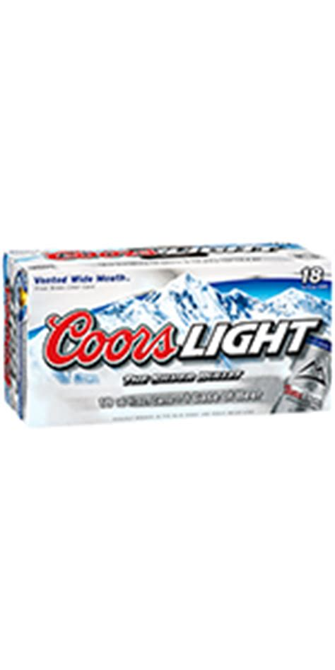 coors light 18 pack coors light 18 pack cans colorado domestic