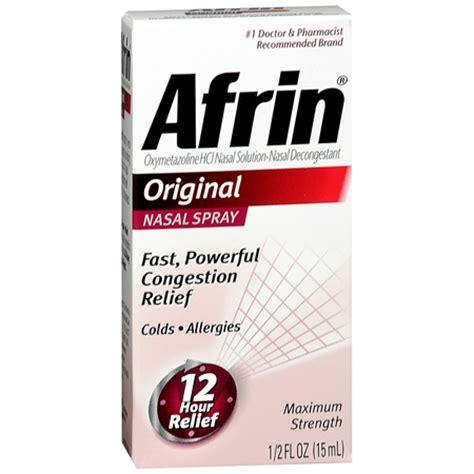 Decongestant Also Search For Afrin Nasal Decongestant Spray Original