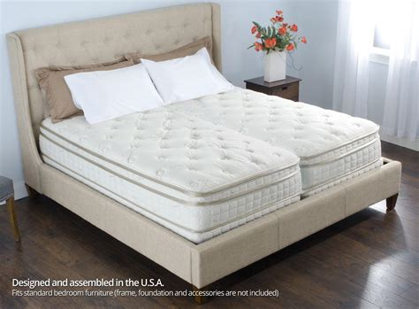 california king sleep number bed 12 quot personal comfort a6 bed vs number bed p6 split cal