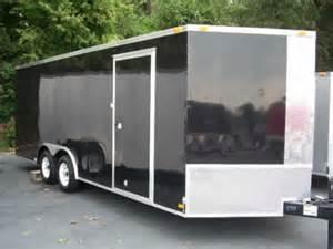 Salem Travel Trailers Floor Plans 2012 V Nose 8 5x20 Enclosed Cargo Trailer Car Hauler 24 In