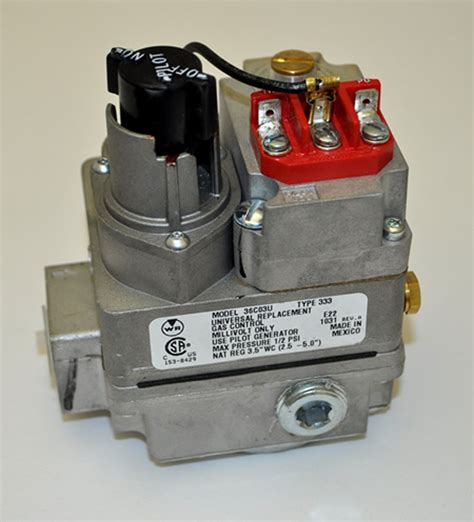 white rodgers 210 millivolt valve