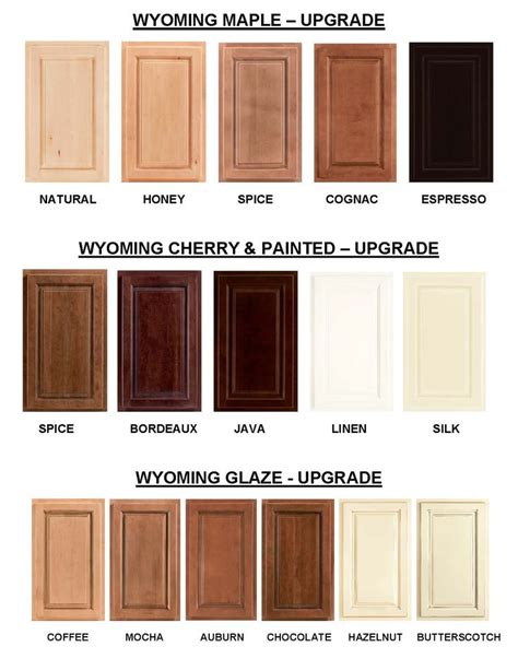 Cabinet Overlay Options by Wyoming Cabinet Colors Wyoming Is A Partial Overlay
