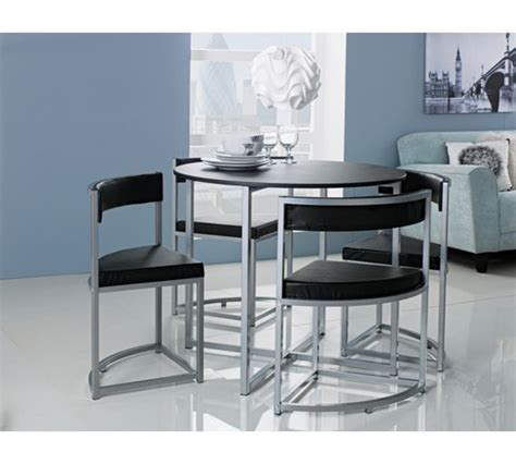 space saver table and 4 chairs 17 best ideas about space saver table on small
