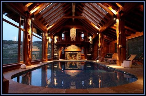Cabin With Pool by Indoor Pool Log Home Awesome I Can T Even Imagine