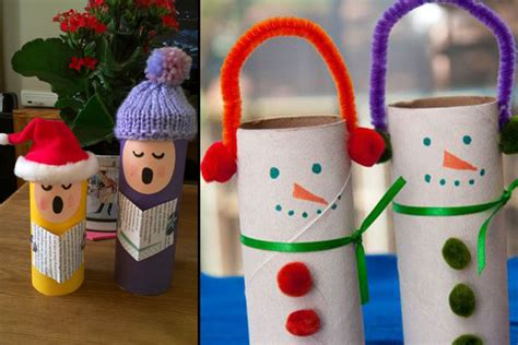 christmas decoration with toilet paper rolls 15 easy diy decor ideas for a filled peppystory