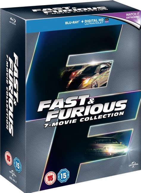 fast and furious box set 1 6 fast furious 1 7 boxset includes ultraviolet copy blu