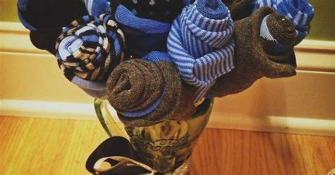 Men's Sock Bouquet. Perfect for a birthday gift, Sweetest