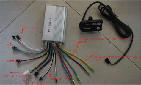 e bike brushless 36 volt controller wiring diagram