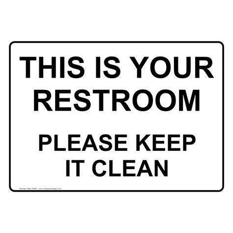 keep clean bathroom signs keep clean bathroom signs keep toilet clean sign