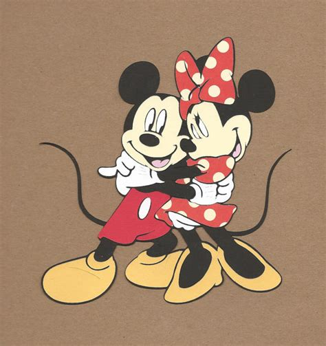 1 5 1 2 inch tall hugging mickey and minnie mouse cricut die