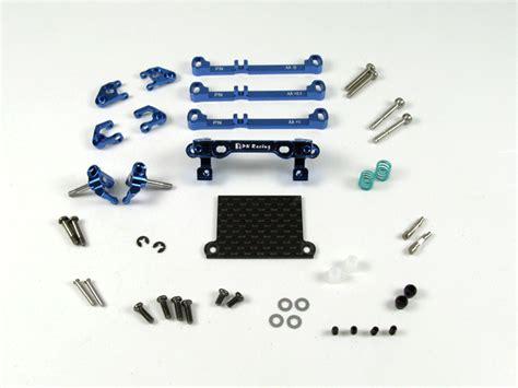 Pn Racing Mr3050ds Mini Z Mr03 A Arm Knuckle Silver pn racing mini z v3 mr03 pnr2 5w a arm front suspension blue