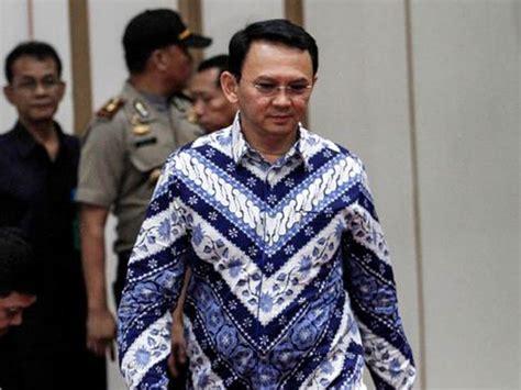Tuntutan Baju Sejuk mengungkap makna dibalik 8 baju batik ahok yang dikenakan pada persidangan vebma