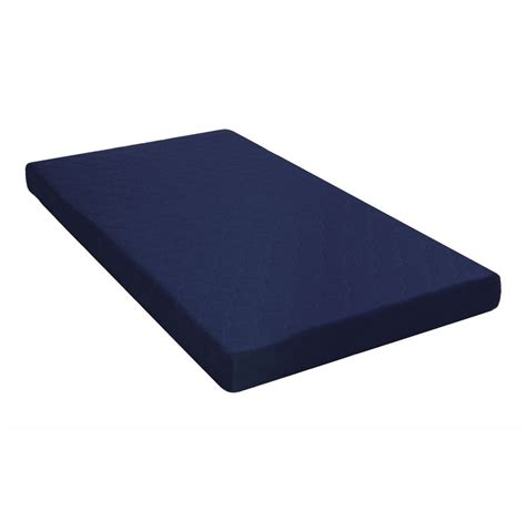 Dhp 6 Inch Twin Quilted Top Bunk Bed Mattress Navy Blue Bunk Bed Mattress