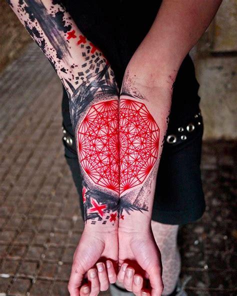 pattern of tattoo 50 nerdy geometric pattern tattoo designs