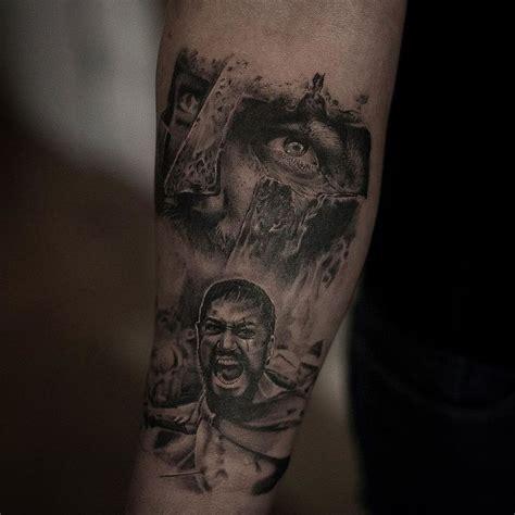leonidas tattoo inal bersekov
